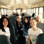 Girls Who Code Club Newton Field Trip