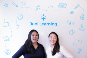 Juni Learning founders: Ruby Lee and Vivian Shen