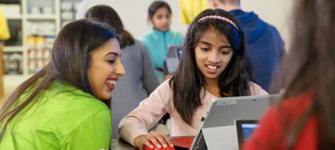 Microsoft Store  Hosts 2018 Summer YouthSpark Camps