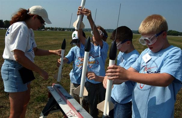 Aerospace camp for kids