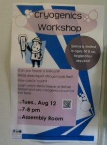 Cryogenics Workshop