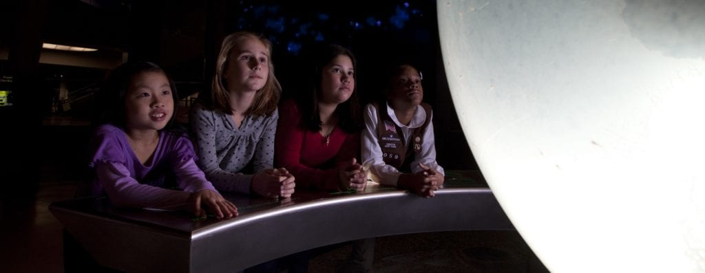 Girl Scouts Space Science