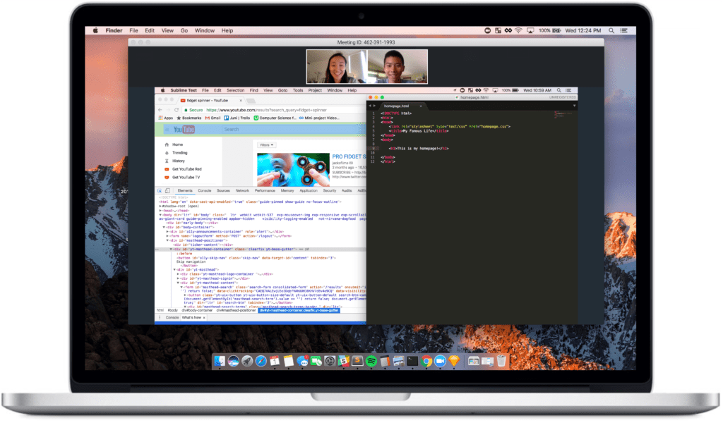 Juni Learning HTML Class