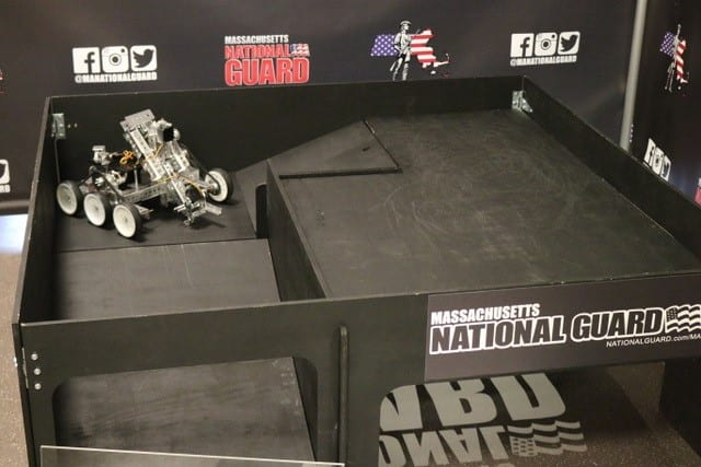 MA National Guard Robotics Obstacle Course
