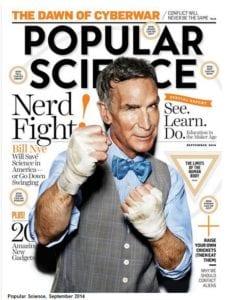 Popular Science magazine- September 2014