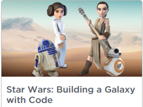 Star Wars Building a Galaxy with Code