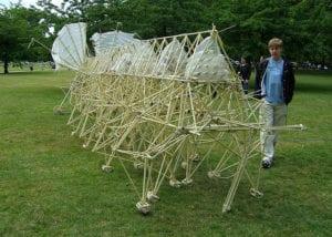 Strandbeest Exhibit at the Peabody Essex Museum