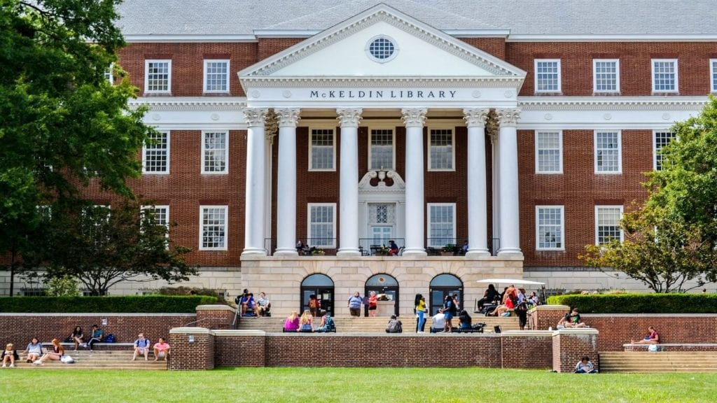 University of Maryland McKeldin Library_picture by rainesUMD
