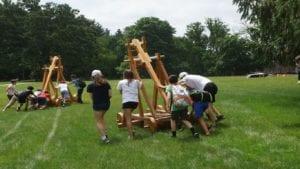 Edge on Science Summer Camp Trebuchet Challenge
