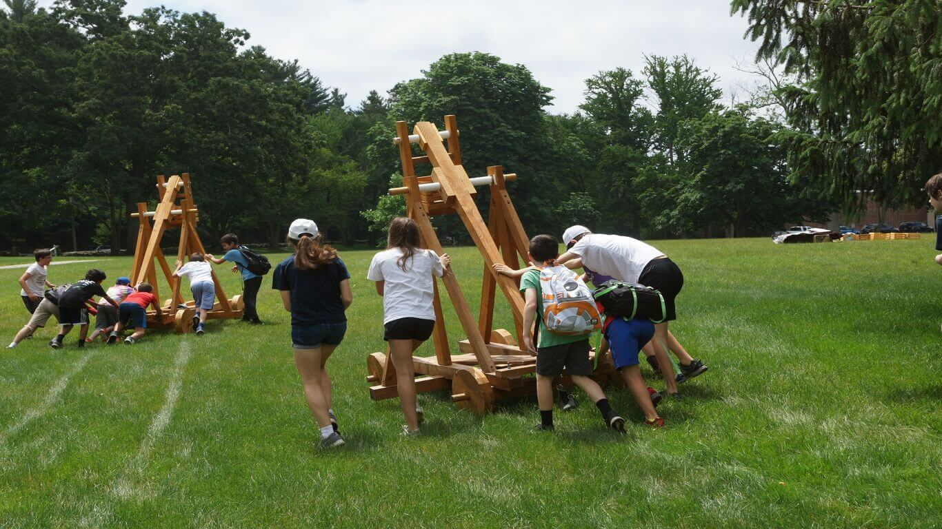 Edge on Science Summer Camp Trebuchet Challenge