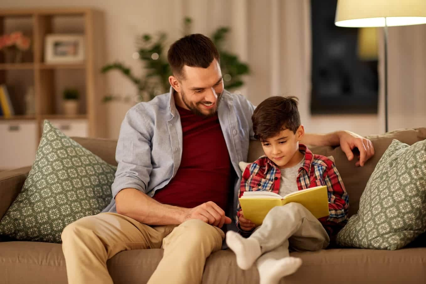 father_and_son_reading